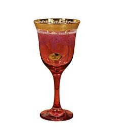Red Goblets - Set of 6