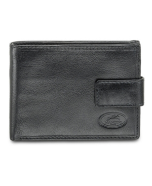 Equestrian2 Collection Rfid Secure Wallet with Coin Pocket
