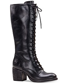 Siciliana Lace-Up Boots