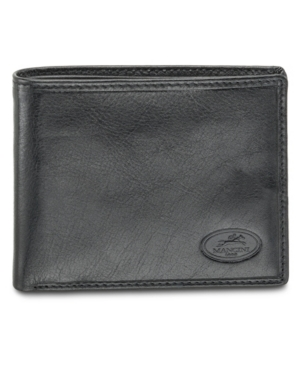 Equestrian2 Collection Rfid Secure Classic Billfold Wallet