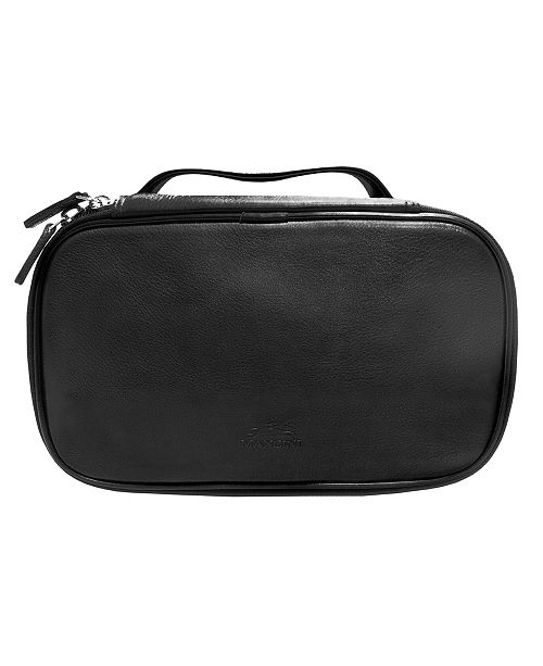 Mancini Colombian Collection Medium Zippered Toiletry Kit