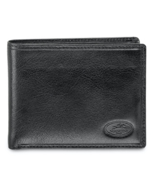 Equestrian2 Collection Rfid Secure Billfold with Removable Left Wing Passcase and Coin Pocket