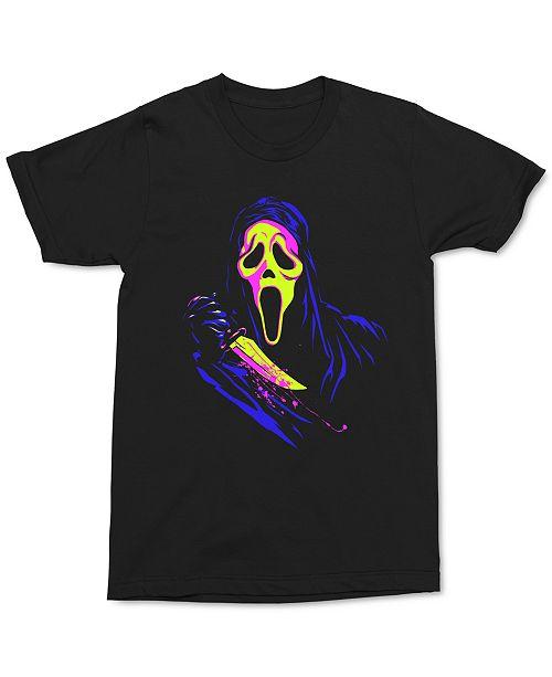 Changes Ghostface Neon Men's Graphic T-Shirt