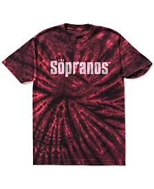 Tie Dye Sopranos Men's Graphic T-Shirt
