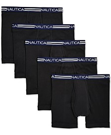 Men's 5-Pk. Cotton Boxer Briefs
