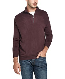 Men's Soft Touch Quarter-Zip Sweater