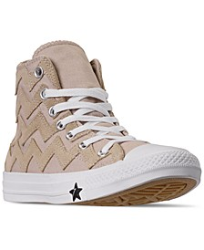 Women's Chuck Taylor All Star VLTG High Top Casual Sneakers from Finish Line