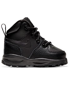 Nike Toddler Boys Manoa Leather Boots from Finish Line