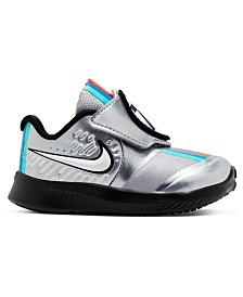 Nike Toddler Girls Star Runner 2 Auto Stay-Put Closure Running Sneakers from Finish Line