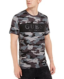Men's Camouflage Logo Graphic T-Shirt