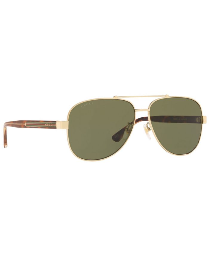 Gucci Sunglasses, GG0528S 63 & Reviews - Sunglasses by Sunglass Hut - Men - Macy's