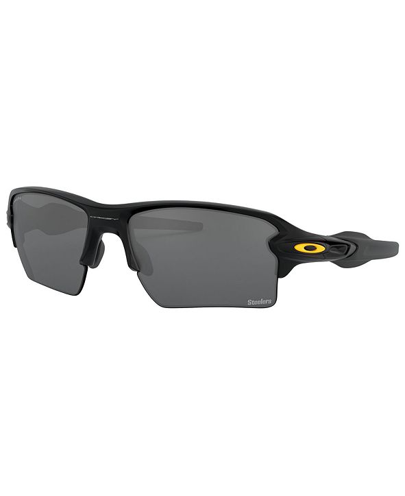 Oakley NFL Collection Sunglasses, Pittsburgh Steelers OO9188 59 FLAK 2.0 XL