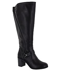 Easy Street Format Wide-Calf Tall Boots