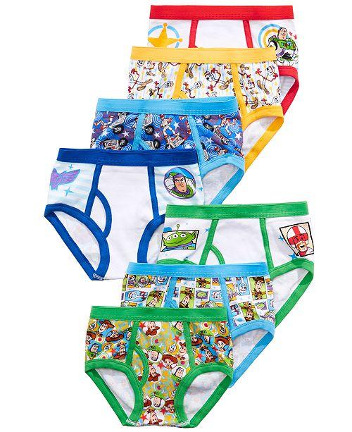 Disney Toddler Boys 7-Pk. Toy Story Cotton Brief Underwear