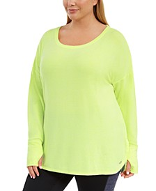 Plus Size Long-Sleeve T-Shirt, Created for Macy's