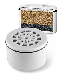 Replacement 3 Stage Filter Cartridge for use with Universal Shower Filtration System Products by HotelSpa