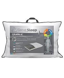 Great Sleep Graph-X Memory Foam Traditional Pillow