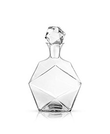 Raye Faceted Crystal Liquor Decanter