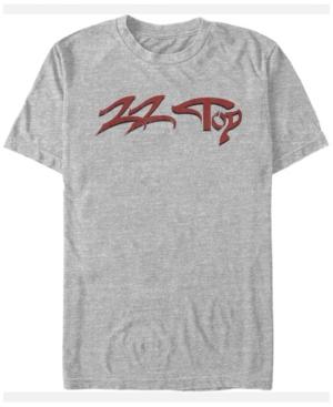Zz Top Men's Text Logo Short Sleeve T-Shirt