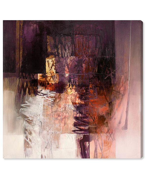 "Oliver Gal SAI - Industrial Geo Canvas Art, 43"" x 43"""
