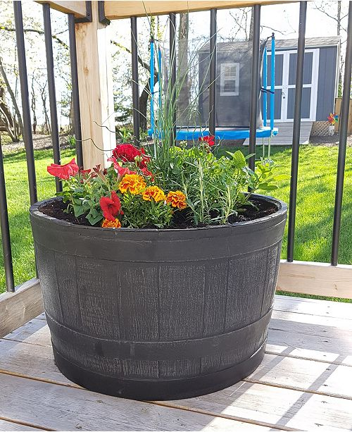 RTS Home Accents Planter Barrel