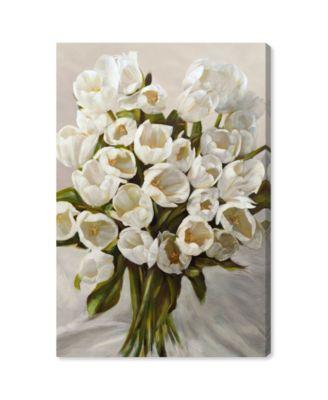 SAI - Elegant Tulips Canvas Art, 24
