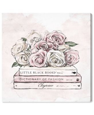 Roses and Books Canvas Art, 16