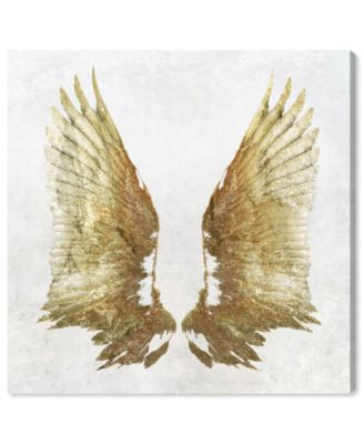 Golden Wings Light Canvas Art, 24