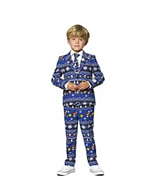 Little Boys Merry Mario Christmas Suit