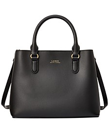 Smooth Leather Marcy II Satchel