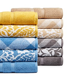 Elite Mix & Match Bath Towel Collection, Created for Macy's