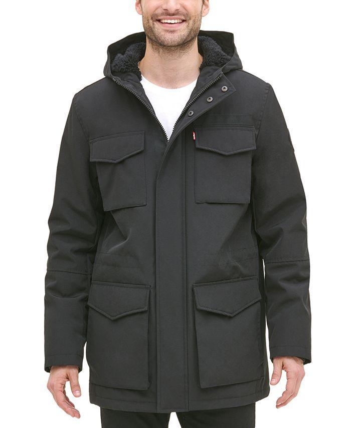 Levi's - Men's Four-Pocket Jacket with Fleece Lining