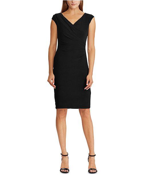 Lauren Ralph Lauren Cowlneck Jersey Dress