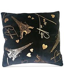 """Bonjour 20"""" x 20"""" Decorative Pillow"""