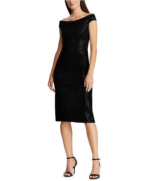 Lauren Ralph Lauren Sequined Chenille Dress