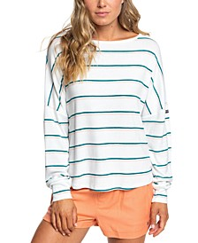 Juniors' Holiday Everyday Dolman-Sleeve Top