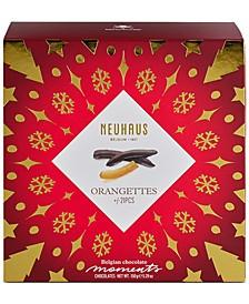 21-Pc. Dark Chocolate Orangettes