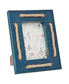 "Blue Wash Strips Frame - 4"" x 6"""
