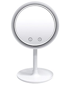 Beauty Breeze LED Lighted Mirror with Built-In Fan and 5x Magnification