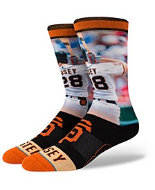 Buster Posey San Francisco Giants Player Crew Socks