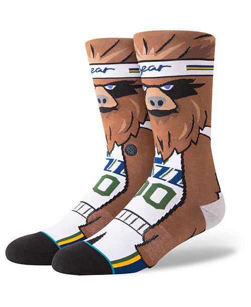 Stance Utah Jazz Mascot Crew Socks