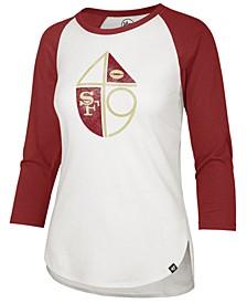 Women's San Francisco 49ers Legacy Raglan T-Shirt