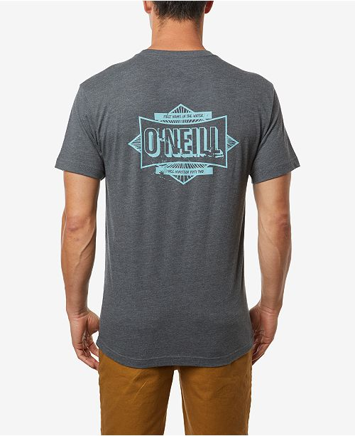 O'Neill Men's Shredded Short Sleeve Tee
