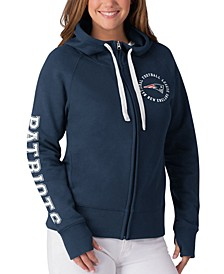 Women's New England Patriots Fanfare Hoodie