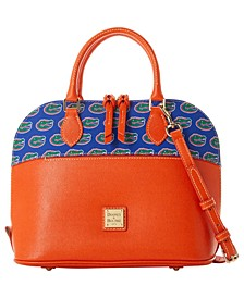 Florida Gators Saffiano Zip Satchel