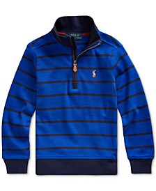 Little Boys Cotton Interlock Stripe Pullover