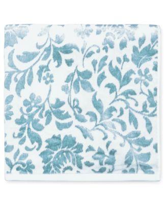 """Floral Leaf Cotton 30"""" x 54"""" Bath Towel"""