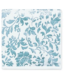 "Floral Leaf Cotton 30"" x 54"" Bath Towel"