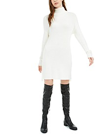 Side-Zip Turtleneck Tunic Dress, Created for Macy's