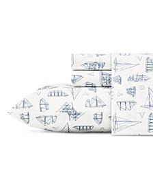 Whitewood Sail Twin Sheet Set